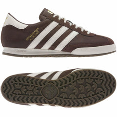 Adidas Mens Originals Beckenbauer Classic Retro Trainers Brown