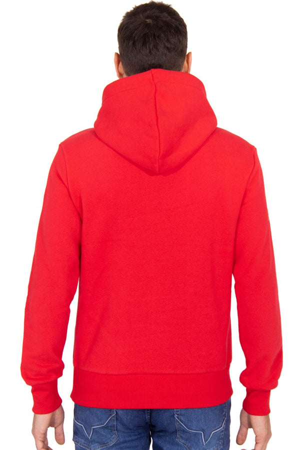 Superdry Mens CNY Limited Edition Pullover Hoodie Sweatshirt   Rebel Red