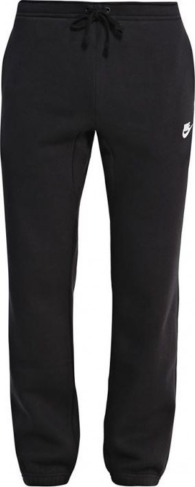 NIKE Mens Fleece Jogging Bottoms Black