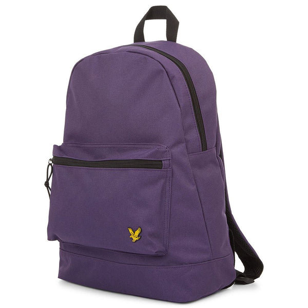 Lyle & Scott Unisex Backpack School Bag Holiday Rucksack  Violet