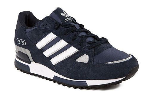 Adidas Mens ZX 750 Sports Trainers Navy