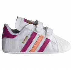 Adidas Kids Superstar Baby Walker Trainers White/Pink