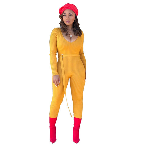 Sweater Knitted Jumpsuits