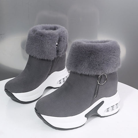 Plush Winter  Snow Boots