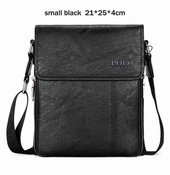 VICUNA POLO Brand Business Men Shoulder Bag Promotion Casual Brand Man bag Leather Messenger Bags Crossbody Sling Bag Hot Sell