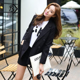 Two Piece Solid Suit Jacket+Short Pant Set Double Button Slim Suit Hot Sale S83412F