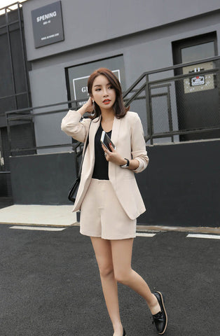 Blazer Short Set