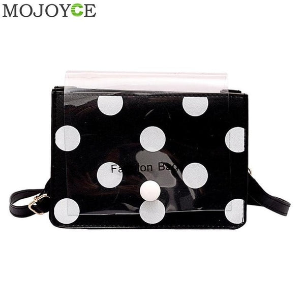 """Dots"" Crossbody Clutch"