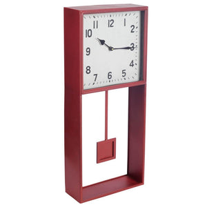 Adelaide Rectangular Contemporary Wall Clock