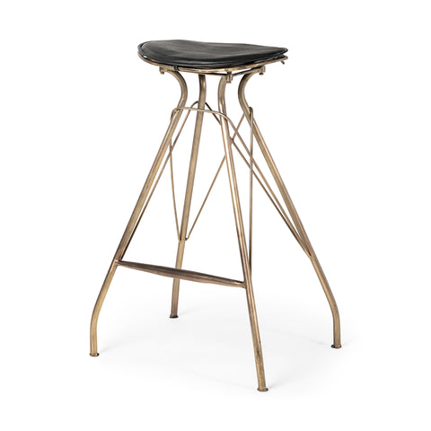 Industrial Bar Height Stool