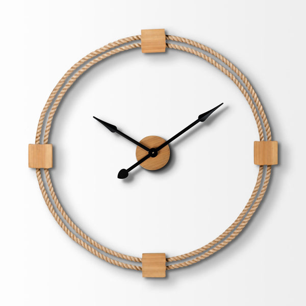 Montauk Large Rope Wall Clock