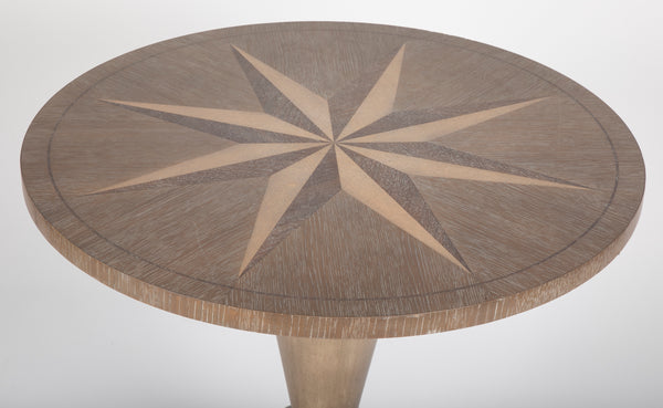 "Thomasville ""Hyport"" Compass Side Table"