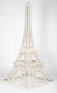 OVERSIZED HANDMADE EIFFEL TOWER FOLK ART