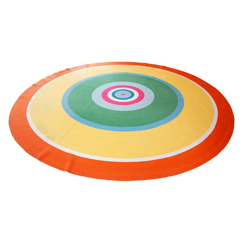 Modern Round Rug Custom Designed by Anthony Baratta
