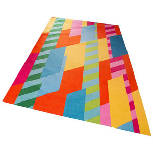Modern Geometric Rug Custom Design by Anthony Baratta