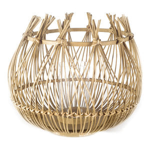 The Mariah Series Wicker Candle Lantern