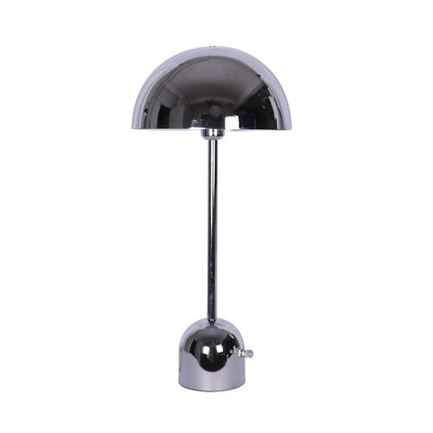 Rollins Chrome Tall Dome Task Table Lamp