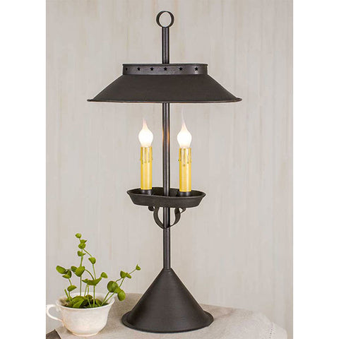 Franklin Colonial Double Lamp
