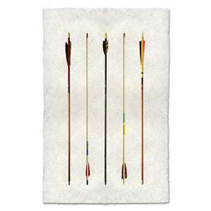 Arrow Study #1 - Modern Arrow Wall Art Print