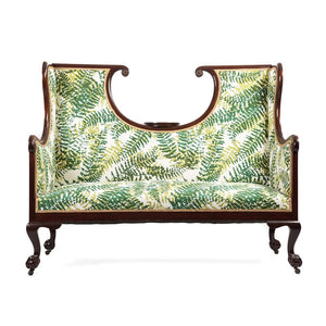 English Edwardian Hall Bench