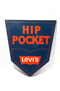 Extra Large Vintage Levi's Sign