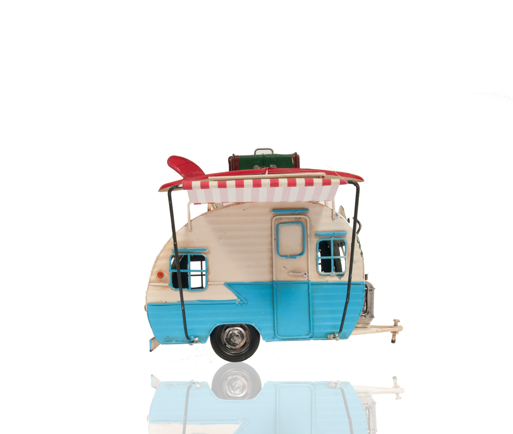 Classic Camper with Photo Frame and PiggyBank