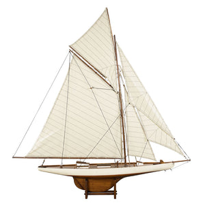 America's Cup Columbia Model Boat - Medium