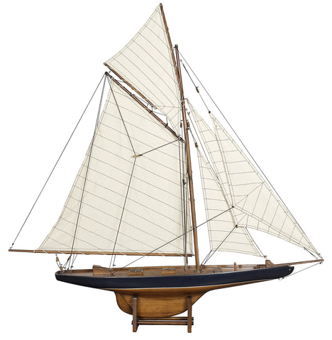 America's Cup Columbia Model Boat - Large