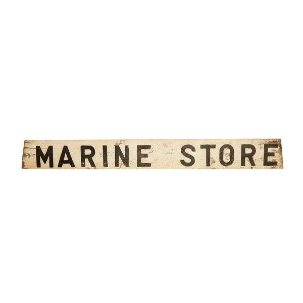 Vintage Marine Store Shop Sign