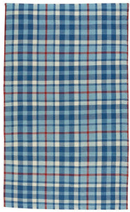 Beach Club Plaid Area Rug
