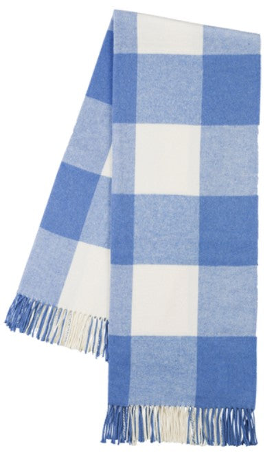 Marina Buffalo Check Pattern Italian Throw Blanket