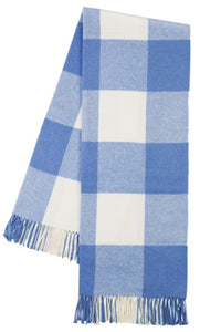 Marina Buffalo Check Pattern Itallian Throw Blanket