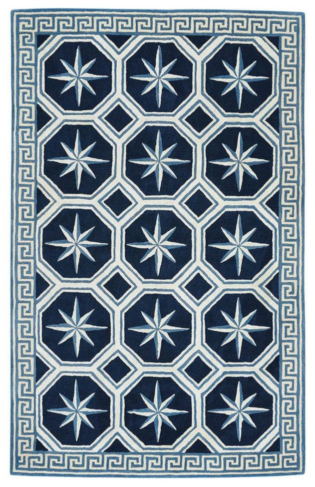 Compass Key: Admiral Nautical Rug