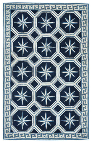Compass Key Area Rug: Admiral Nautical Rug