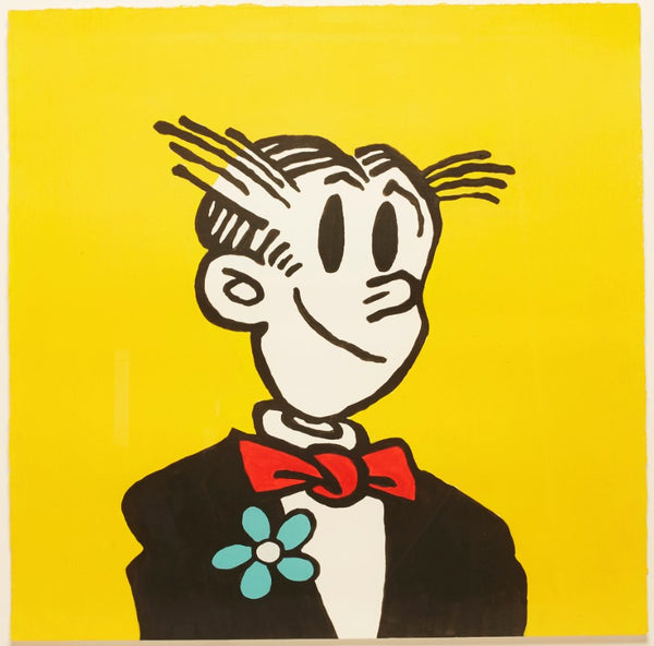Dagwood Cartoon Character Painting
