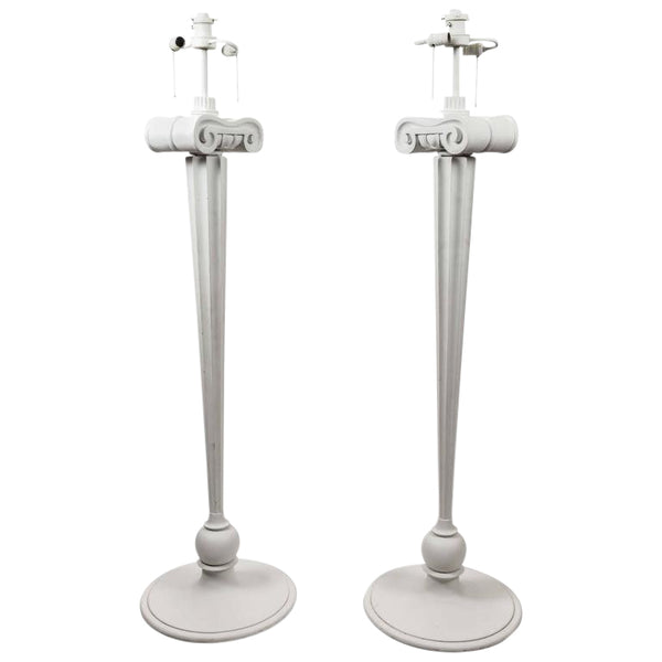 Pair of Anthony Baratta Eden Roc Floor Lamps