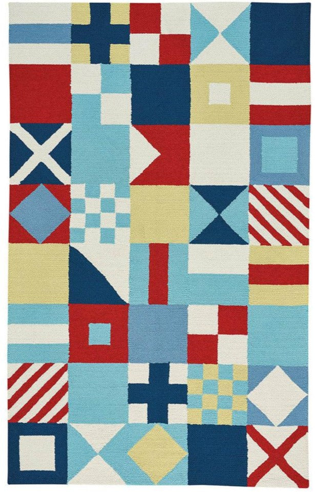 Nautical Flag Rug