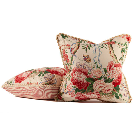 Butterfly Chintz Pillows