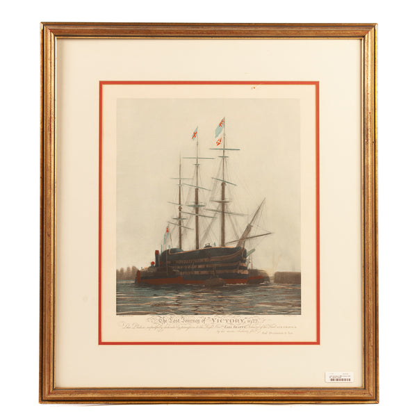 Nautical Clipper Ship Sail Boat Print Set