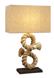 """S"" Curve Rope Lamp"