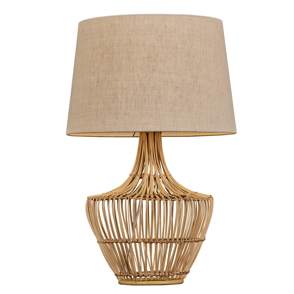 Exuma Rattan Table Lamp