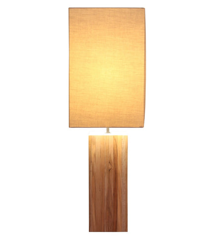The Sutton Line Teak Lamp