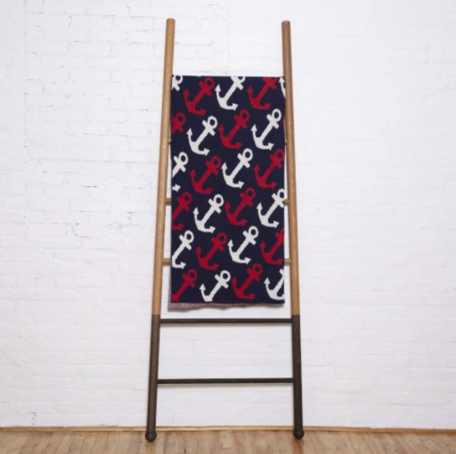 Eco Anchors Away Throw Blanket