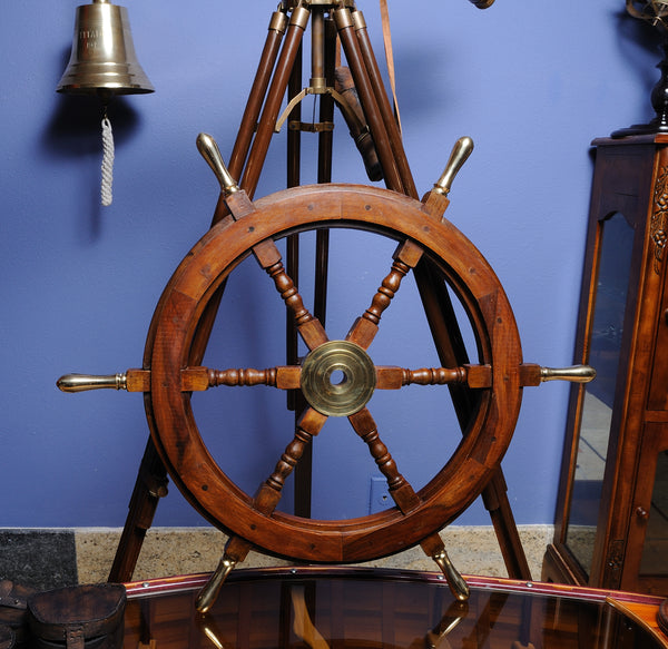 Classic Nautical Ship Wheel-30""