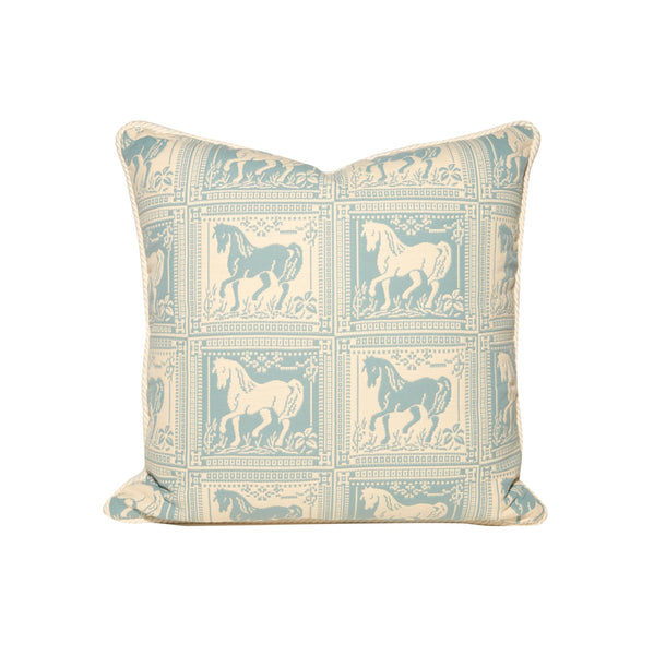 Horse Motif Block Pillows