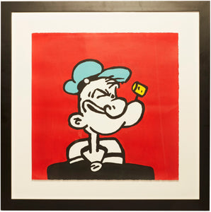 Popeye Cartoon Character Painting
