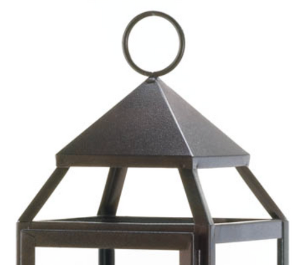 The Modern Tall Bronze Candle Lantern