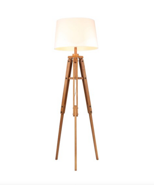 The Navigator Mid Century Tripod Floor Lamp
