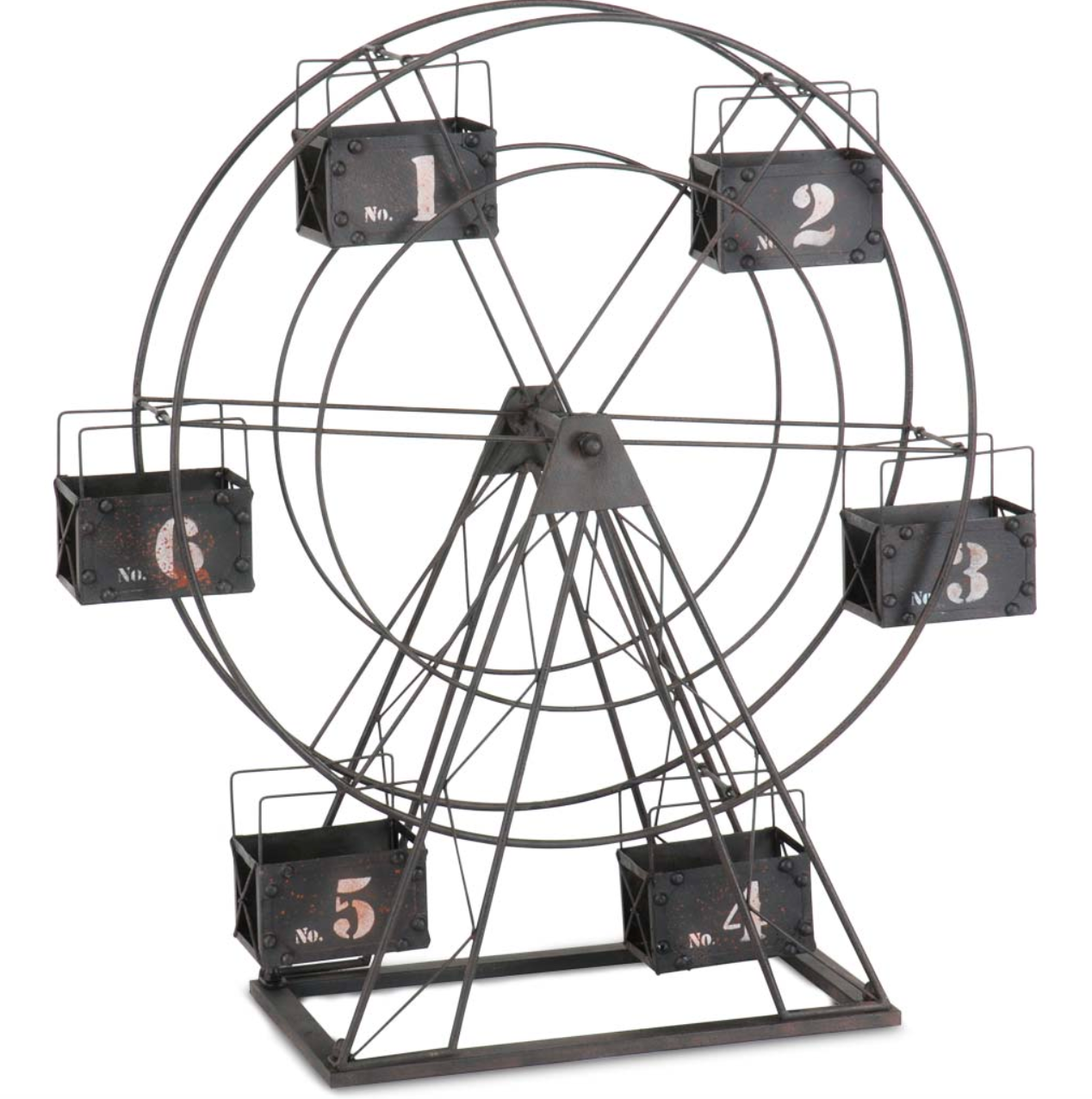 The Carnival Metal Ferris Wheel Candle Holder