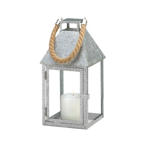 Galvanized Farmhouse Lantern